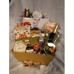 A Toast To You Gift Basket