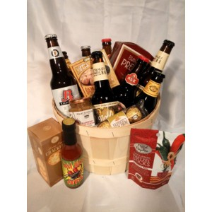 Craft Beer Gourmet Gift Basket