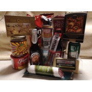 Beer Lovers Gourmet Gift Basket