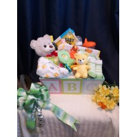 Basket of Joy Baby Gift Basket