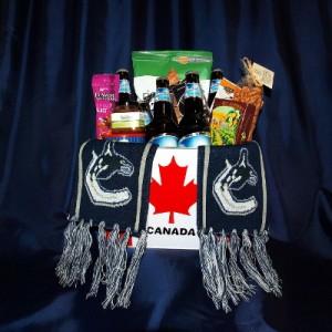 I am A Canuck Gourmet Gift Basket