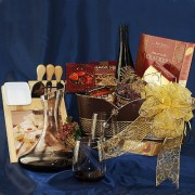 Wine & Cheese Elegance Gourmet Gift Basket