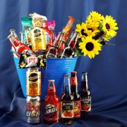 Cooler / Cider / Beer OH MY!! Gift Basket
