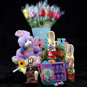 Easter Chocolate Fun Gift Basket