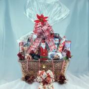 Family Christmas Gourmet Gift Basket