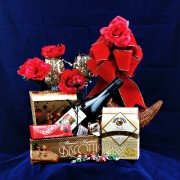 Wine Retreat Gourmet Wine Gift Basket