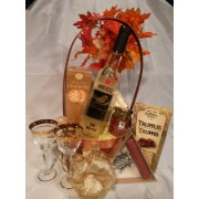 Late Harvest Wine Gift Basket