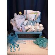 Little Boy Blue Baby GIft Basket