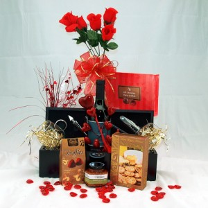 Love is in the Air Gift Basket