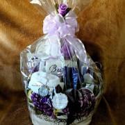 Purely Lavender Spa Body & Bath Supreme Gift Basket