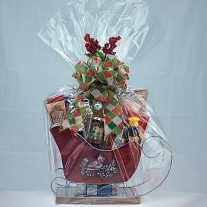 Santa's Ride Gourmet Gift Basket