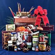 Ho Ho Ho Santa's Serving Set Gourmet Gift Basket