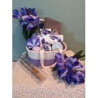 Tranquility Spa GIft Basket