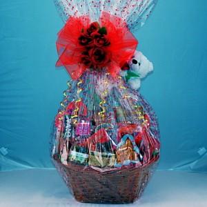 Basket Of Love Gourmet Gift Basket