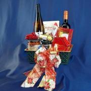 Wine Duet Gourmet Gift Basket