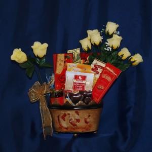 Basket of Biscuits Gift Basket