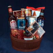 Beer Trivia Gourmet Gift Basket