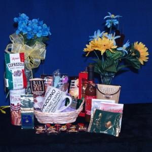 Coffee Lovers Gift Basket