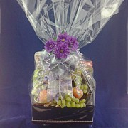 Fruit & Savory Combination Gift Basket