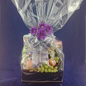 Fruit & Savory Combination Gift Basket
