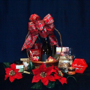 From the Vine Gourmet Wine Gift Basket