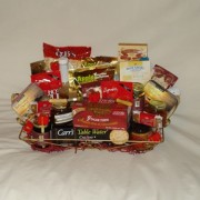 Golden Tray Gourmet Gift Basket