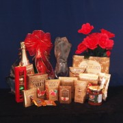 Golden Treats Gourmet Gift Basket