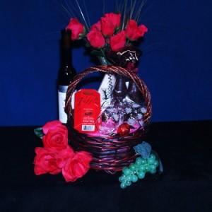 Ice Wine & Chocolate Gourmet Wine Gift Basket
