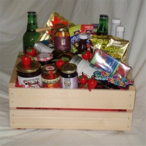 Large Okanagan Crate Gourmet Gift Basket