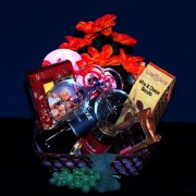 Wine Gourmet Gift Basket