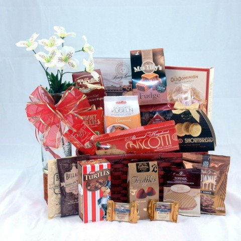 Basket of Biscuits Large Gift Basket #234