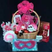 White Cranberry Cosmo Spa Package Gift Basket
