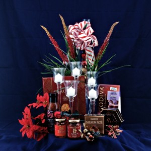By Candle Light Gourmet Gift Basket
