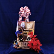 Christmas Delight Gourmet Gift Basket