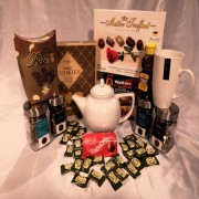 Collection of Tea Gourmet Gift Basket