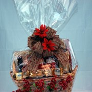 Christmas Snackies Gift Basket