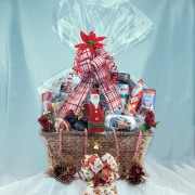 Family Christmas Gourmet Gift Basket