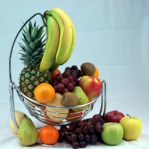 Fruit Hammock Gift Basket