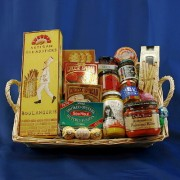 Snack-O-Licious Tray Gourmet Gift Basket