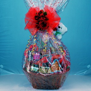 Basket Of Love Gourmet Gift Basket