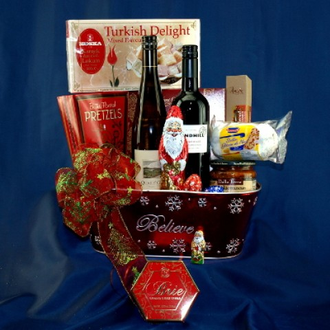 Wine Duet Large Gourmet Gift Basket