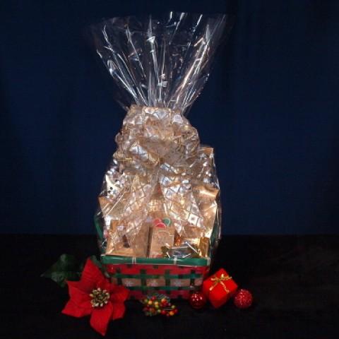 Golden Treats Gourmet Gift Basket