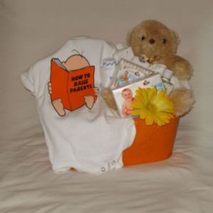 Babies Rule Gift Basket