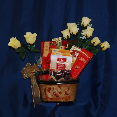 Basket of Biscuits Gift Basket