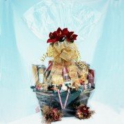 Basket of Gold Gourmet Gift Basket