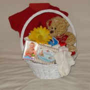 Canadian Born Gift Basket