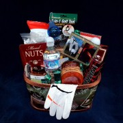 Extreme Golf Lovers Gift Basket