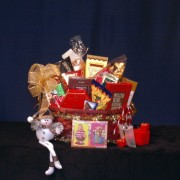 Family Fun & Jokes Night Gourmet Gift Basket