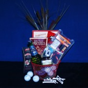 """Fore"" the Golfer Gift Basket"