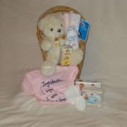 Her Lil' Teddy Gift Basket
